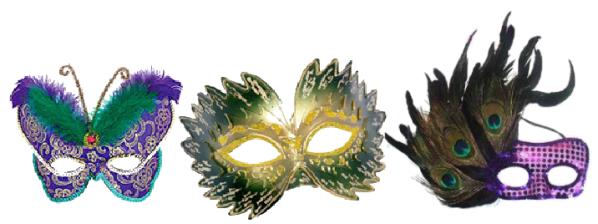 3 belas máscaras
